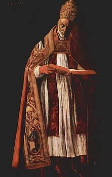 Zurbaran Francisco de - St Gregory 1627