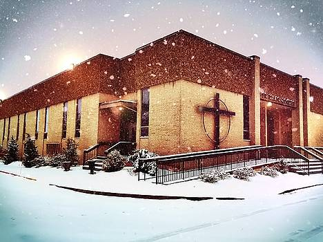 St. Isaac Jogues in the Snow by Chris Montcalmo