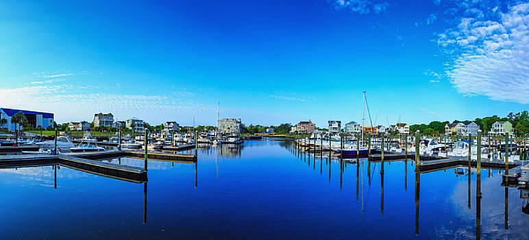 St James Marina Panorama by Nick Noble