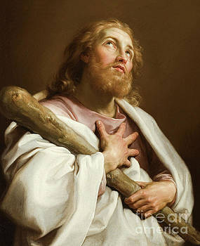St James the less by Pompeo Girolamo Batoni