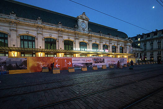 St Jean Station - Bordeaux France by Russell Mancuso