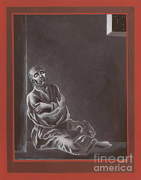 St John of the Cross in the Dark Night of the Soul 290 by William Hart McNichols