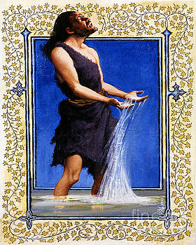 Louis Glanzman - St. John the Baptist - LGJTB