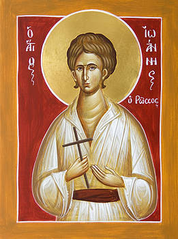 St John the Russian by Julia Bridget Hayes