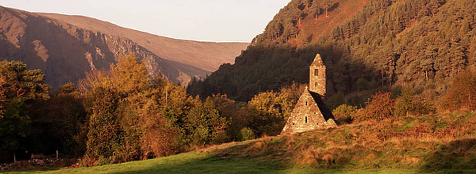 Morning at Glendalough, County Wicklow - Ireland by Barry O Carroll