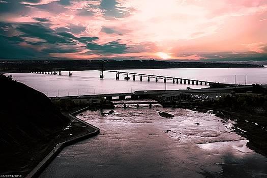 St. Lawrence Sunset by Gaylon Yancy