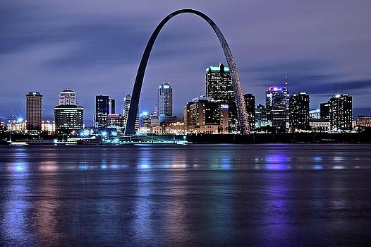 Frozen in Time Fine Art Photography - St Louis Arch and City