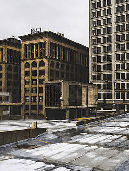 St. Louis Architecture - Parking Garage Roof by Dylan Murphy