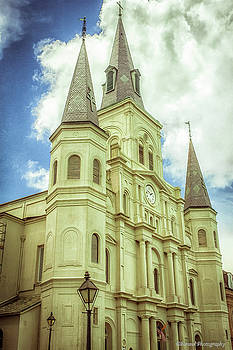 St. Louis Cathedral 2 by Debra Forand