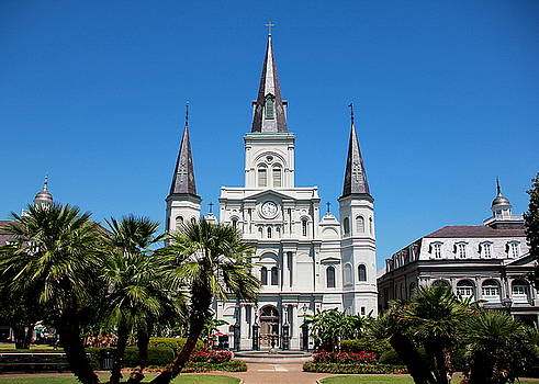 St. Louis Cathedral by Debi Dalio