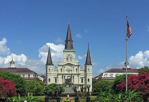 St. Louis Cathedral - New Orleans by John Black