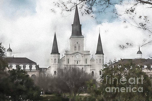 St. Louis Cathedral by Pam  Holdsworth