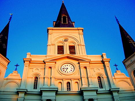 St. Louis Cathedral by Ted Hebbler