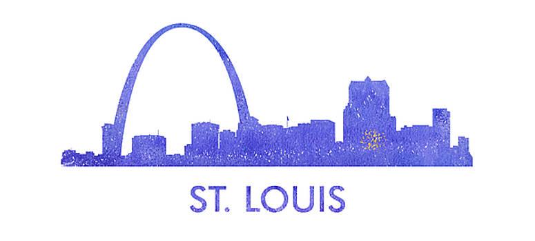 Vyacheslav Isaev - St. Louis  city purple skyline