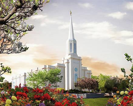 St. Louis Missouri Temple by Brent Borup