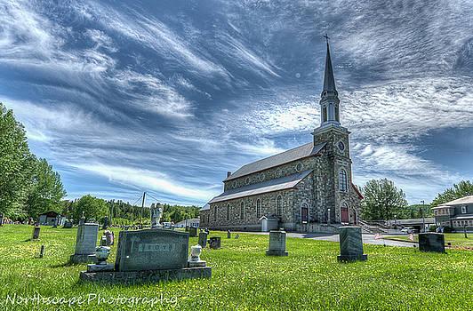 St. Luce Catholic Church by Jeff Clark