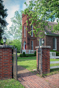 St Luke's Episcopal Church - Entrance by Brian Wallace