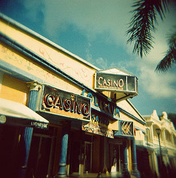 St. Maarten Casino - Holga Film Photography by Lisa Shea