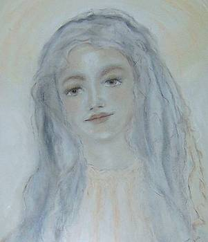 St. Maria Goretti by Suzanne Reynolds