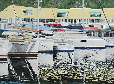 St. Martin Port Royale by Steven Fleit