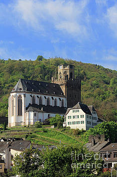 St Martins Church in Oberwesel Germany by Louise Heusinkveld