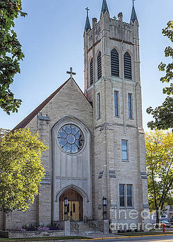 St Martins Church Winona Minnesota Front Vertical by Kari Yearous
