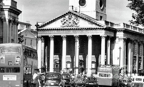 St Martins In The Fields London England by John S