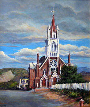 St. Mary of the Mountains by Donna Tucker