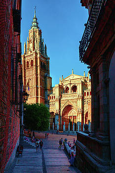 St Mary's Cathedral - Catholic Cathedral in Toledo, chair of the Primate of Spain, the main Cathedra by George Westermak