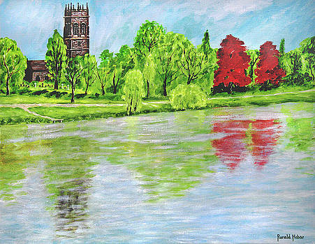 St Mary's Church - Lymm by Ronald Haber