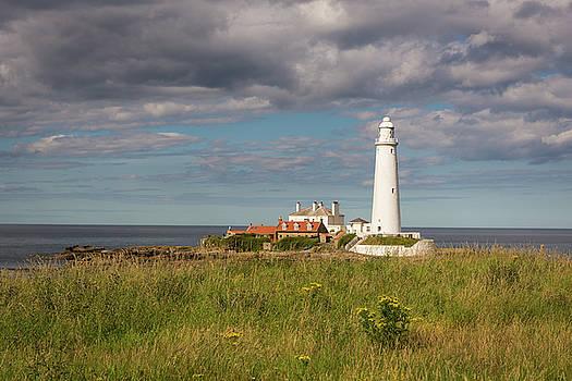 St Mary's Lighthouse headland by Gary Eason