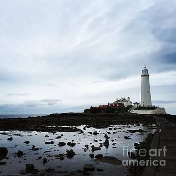 St. Mary's Lighthouse by Jennifer Ansier