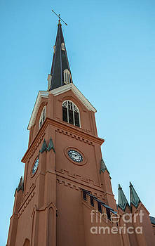 St. Matthew's Lutheran Church on King Street in Charleston SC by Dale Powell