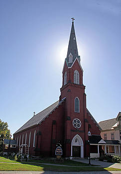 St. Michaels Catholic Church by Gerald Mitchell