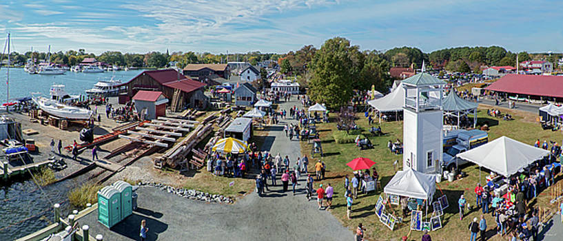 St Michaels Oyster Fest by Brian Wallace