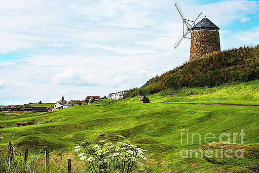 St Monans Windmill by MaryJane Armstrong