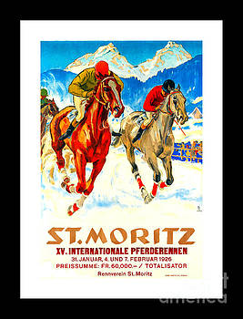 Peter Gumaer Ogden - St Moritz X V International Horse Race II 1926 Hugo Laubi