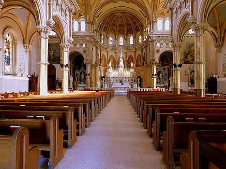 St. Nicholas of Tolentine Church - I by Arlane Crump
