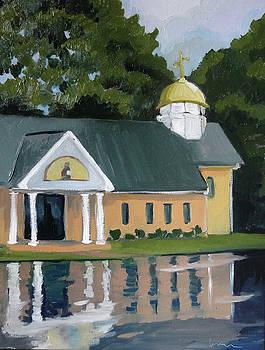 St. Nicholas Orthodox Church by Laura Wilson