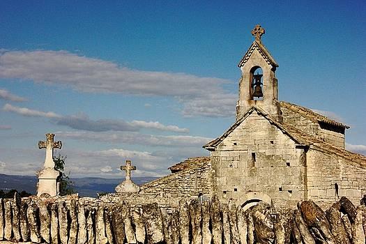 St. Pantaleon Church,  Luberon, France by Sarah Lilja