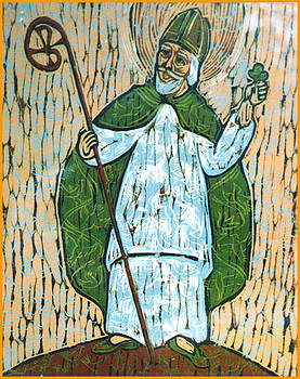 St Patrick by Sister Mary Grace Thul