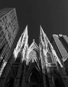 St Patrick's Cathedral  by Dick Wood