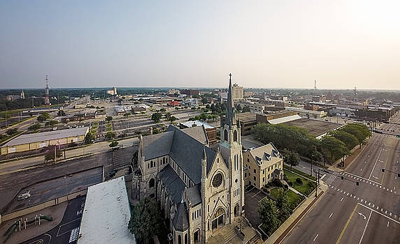 St. Pats Church by George Strohl