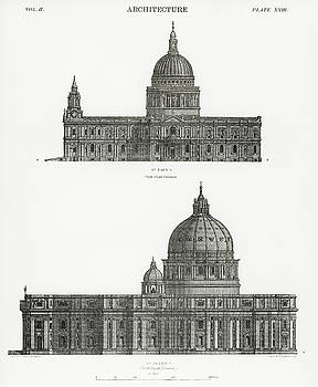 St. Paul and St. Peters Cathedral by Unknown