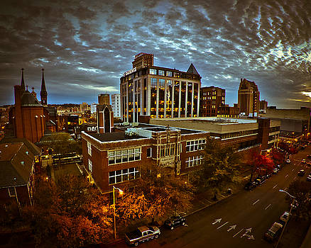 St. Paul Twilight by Just Birmingham