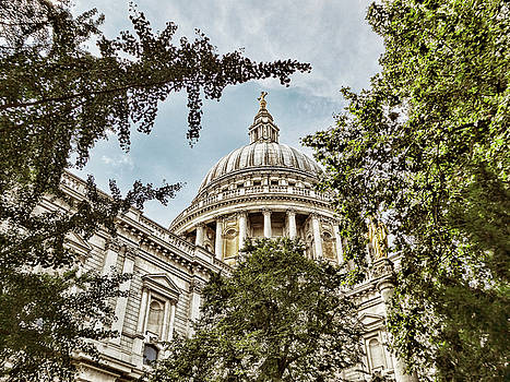 St. Paul's Cathedral by Nora Martinez