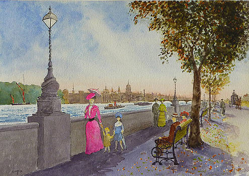 St Paul's from South Bank by David Godbolt