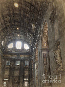 St Peters Basilia interior by HD Connelly