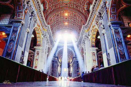 St. Peter's Basilica - Rome by Stephen Fanning