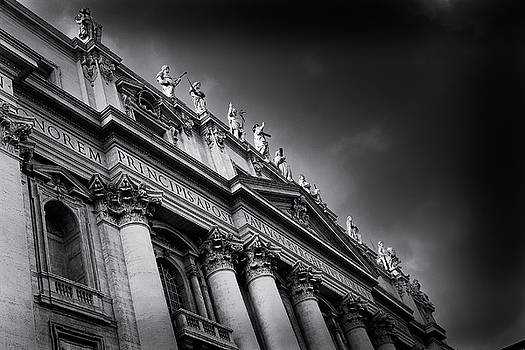 St Peters basilica, Vatican City by Alex Saunders